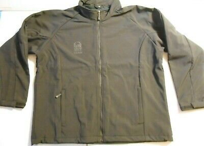 NEW Taco Bell Team Soft Shell Black Zip Up Fast Food Jacket Size XL