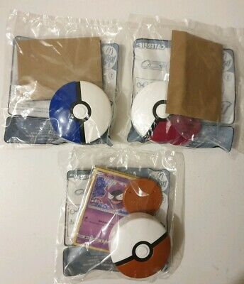 Pokemon McDonalds Happy Meal Toys 2019 x3