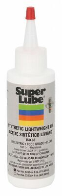 Super Lube Synthetic, 4 oz. Bottle, ISO Viscosity Grade : 68 Translucent   52004
