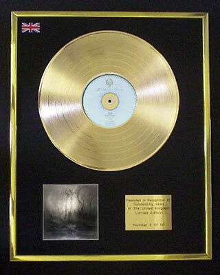 Opeth Blackwater Park Cd Gold Disc Lp Free P+P!
