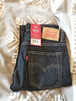 BNWT boys 510 classic skinny jeans by LEVI'S in size 14 years