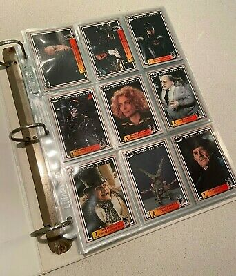 1992 Batman Returns Collector Trading Cards Set Plus Gold Cards Stickers Notes