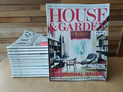 House & Garden Magazine - 15 Issues in Total (June 2014 - August 2015 Inclusive)