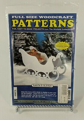 Woodcraft Christmas Pattern :: Santa's Sleigh :: Winfield Collection