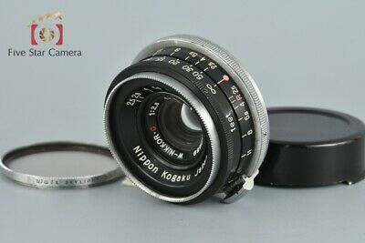 Very Good!! Nikon W-NIKKOR.C 35mm f/2.5 for Nikon Rangefinder S Mount