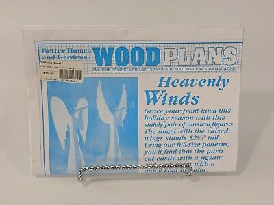 Woodcraft Christmas Pattern :: Heavenly Angels :: Better Homes & Gardens