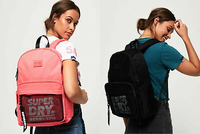 Superdry Womens Mesh Pocket Backpack And Pencil Case