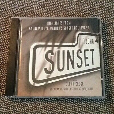 Highlights from Sunset Blvd. Glenn Close USED CD