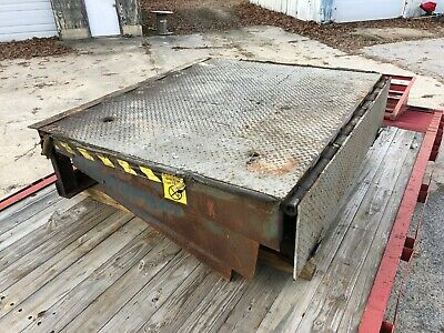 """Loading Dock Autodok Leveler Spring Assisted Lift Plate, 72""""W x 66""""L x 19"""""""