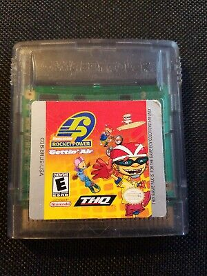 Rocket Power Gettin Air Nintendo Game Boy Color Tested 6 00 Picclick