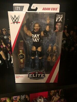 WWE MATTEL ELITE 71 ADAM COLE WRESTLING FIGURE BAY BAY Undisputed Era NXT
