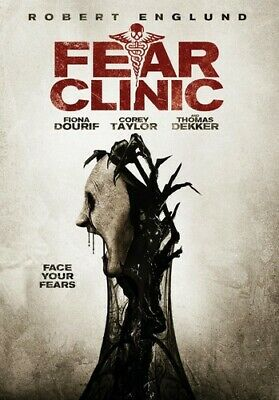 Fear Clinic (DVD, 2015) **RESEALED**