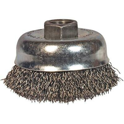 "2-3/4"" Crimped Wire Cup Brush"