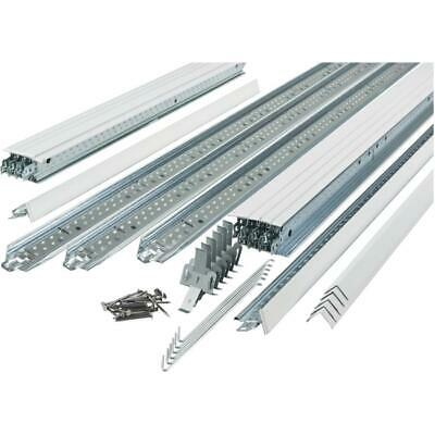 64 Sq. Ft 2' x 2' QuickHang Suspended Ceiling Kit
