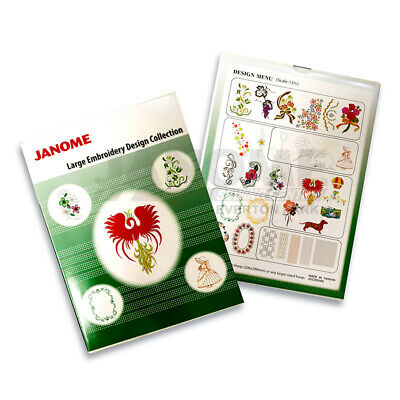 JANOME Large Embroidery Design Collection