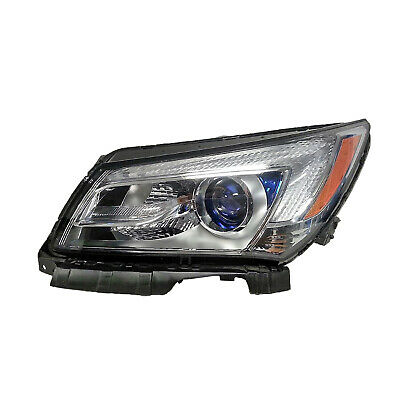 New Premium Fit Driver Side Halogen Headlight Assembly 26672547