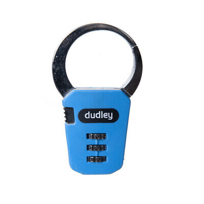 Combination Claw Backpack Padlock, Assorted Colours