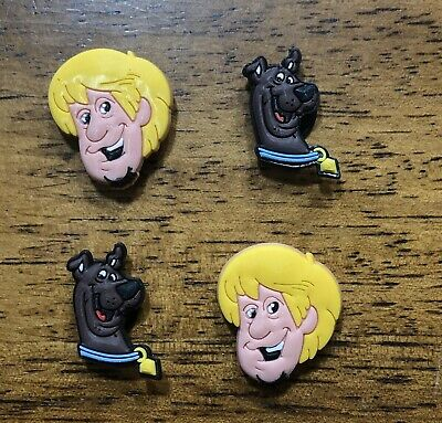 Lot of Scooby Doo & Shaggy 4pc Croc Shoe Charms Jibbitz