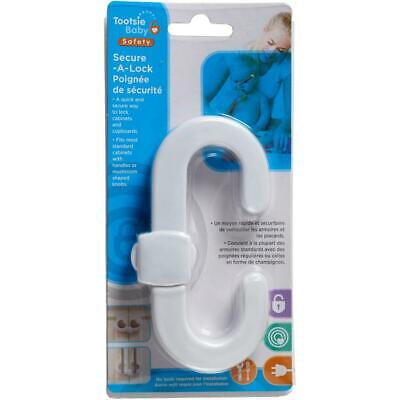 Child Safety Secure-A-Lock Cabinet Lock