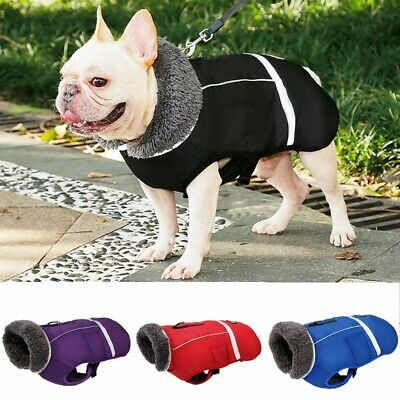 Waterproof Winter Warm Dog Coats Clothes Dog Vest Pet Jacket Small Medium Large