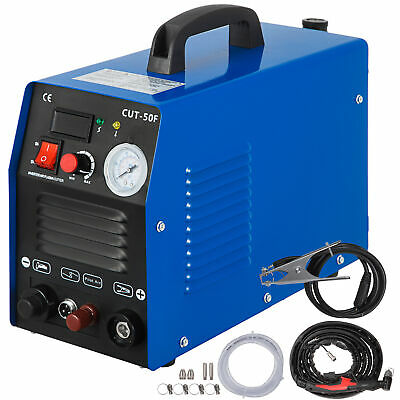 Inverter Pilot Arc Plasma Cutter 50A Non-Touch Dual Voltage Digital CUT50F 230V
