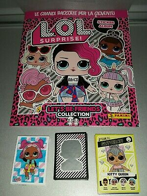 LoL Surprise Trading Cards  10 bustine sigillate Card figurine Panini