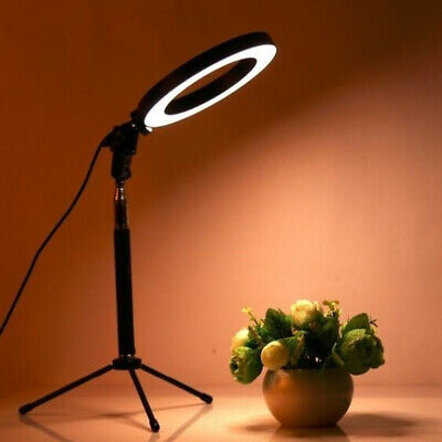 128 LED Ring Light Studio Photo Video Dimmable Lamp Tripod Stands Selfie Camera
