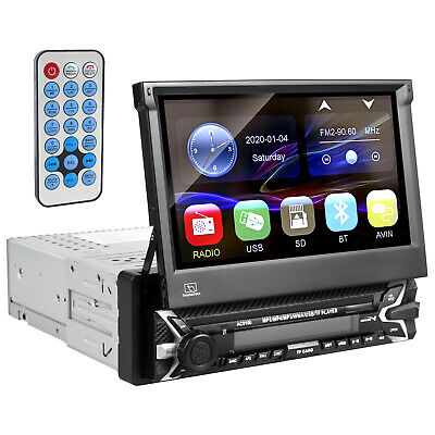 "Autoradio Touchscreen Multimedia Player Bluetooth 7"" 1080p + Fernbedienung 1DIN"