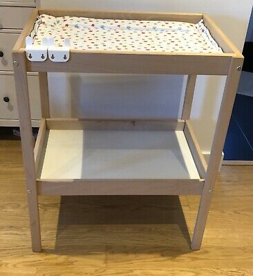 IKEA SPOLING Changing table, beige