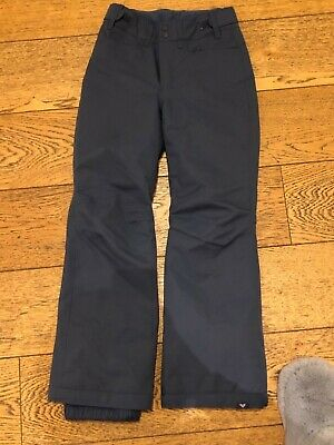 Roxy Girls Navy Ski Pants Age 12 - excellent condition!