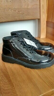 Girls ankle boots, black, M & S, size 13, brand new with tag
