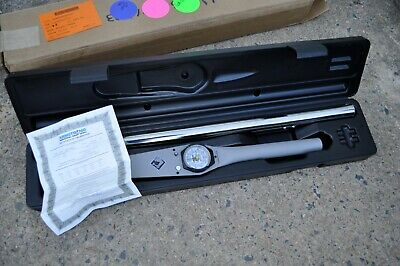 """Armstrong  64-502A Torque Wrench 1"""" Drive Dial Indicator 0-1000 Ft Lbs new"""