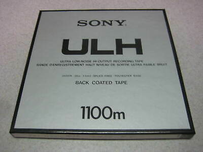 "Sony ULH Reel Tape. 3600ft. 1/4"" x 10-1/2"""