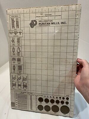 "Wellington Puritan Mills Craft Board For Macrame And Beading 18""X 12"""