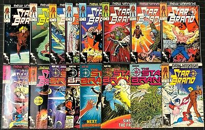 Star Brand (1986) #1-15 & Annual #1 near complete set missing 16 17 18 19