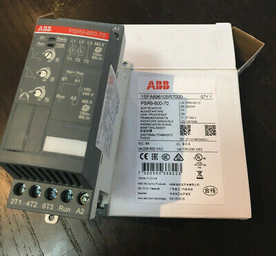 1pcs New ABB Soft Starter with Motor Protection Function PSR9-600-70 Power 4KW
