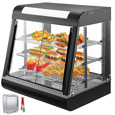 Commercial Food Warmer pastry warmer patty warmer sliding doors RELIABLE SELLER