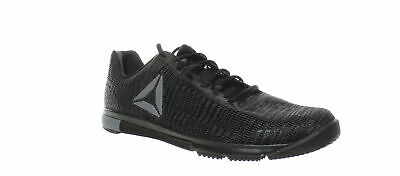 Reebok Mens Speed Tr Flexweave Black/Cold Grey Running Shoes Size 9 (824322)