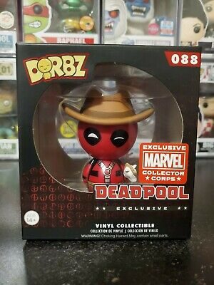 Funko Smugglers Bounty Collector Corps Exclusives Dorbz Deadpool Black Panther