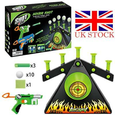 USB Hover Floating Target Air Shot Game Foam Dart Blaster Shooting Ball Toy Gift