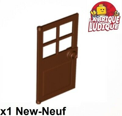 2x Door Porte 1x4x6 frame cadre type2 marron//reddish brown 60596 NEUF Lego