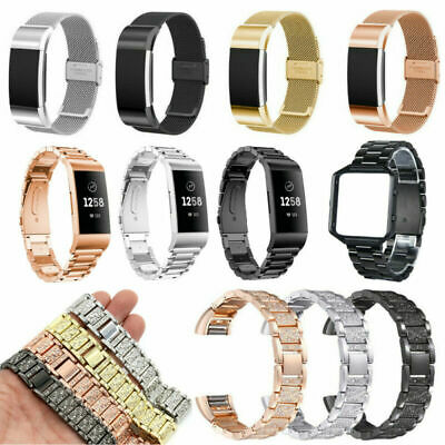 For Fitbit Charge 2 3 Blaze Tracker Alta HR Galaxy Replacement Watch Strap Band