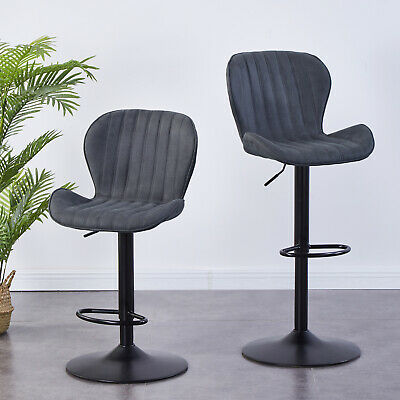 2 x Bar Stools by Millhouse Modern Cuban Venus Breakfast Bar Kitchen Barstool UK