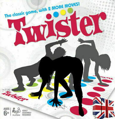 With 2 More Moves Mat and Spinner Toy Body Kid The Classic Game Funny Twister