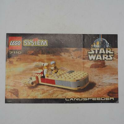 Lego 7110 Star Wars Landspeeder Instruction Manual