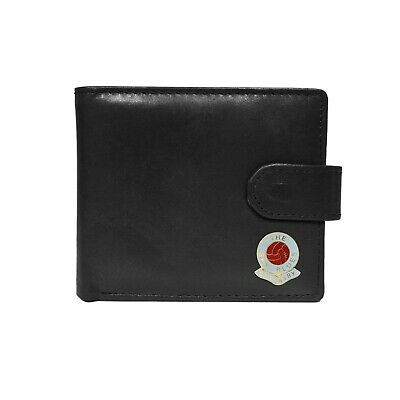 Coventry City football club black leather wallet