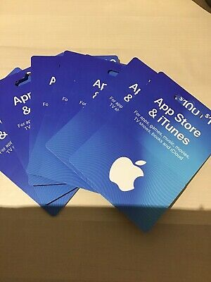 Apple iTunes gift card $100, pick up in Perth city
