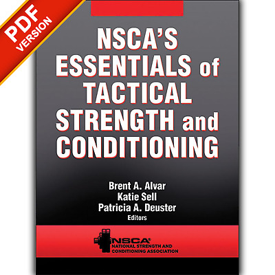 Nsca's Essentials of Tactical Strength and Conditioning by NSCA [ P.D.F Only]