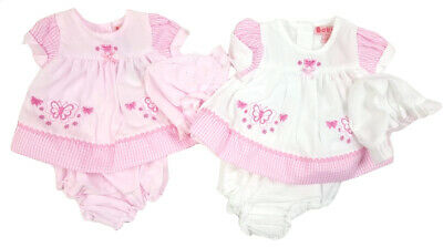 Premature Baby preemie Girl Dress set Hat Pants Tiny  White Pink reborn 3-10lbs