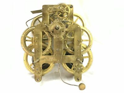Seth Thomas Clock Co. 9 1/2 Mechanical Clock Movement for Parts | 22841
